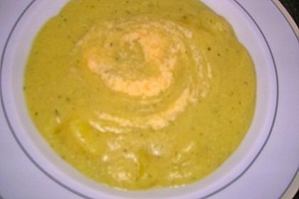 Kartoffelsuppe mit Joghurt 1