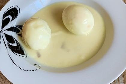 Eier in Senfsoße (Bild)