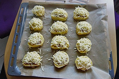 Gefüllte Kartoffelrolle 1