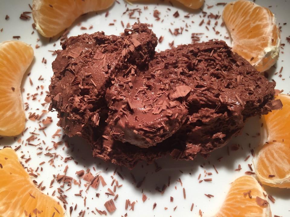 Mousse Au Chocolat Ohne Sahne Von Sofi Chefkoch