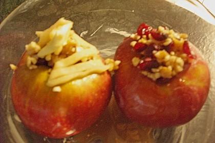 Bratapfel mit Lebkuchensauce 2