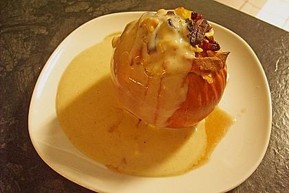 Bratapfel mit Lebkuchensauce