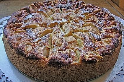 Apfel-Topfenkuchen