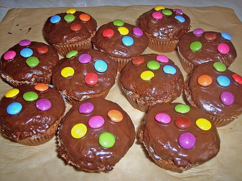 Smarties Muffins Von Floh Chefkoch De