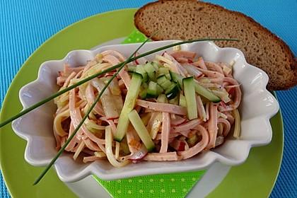 Schweizer Wurstsalat 2