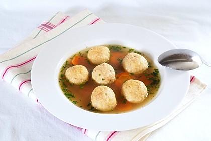 Butterklößchen - Suppe