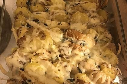 Kartoffel - Birnen - Gratin 4