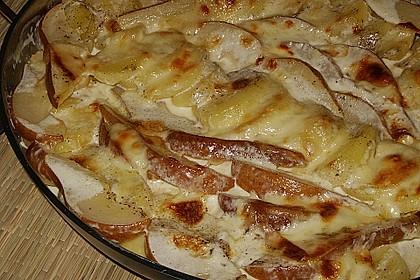 Kartoffel - Birnen - Gratin 2