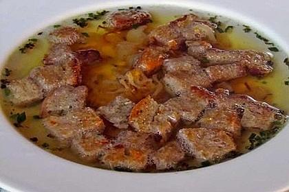 Aufgeschmalzene Brotsuppe (bayrisch) 2