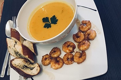 Kürbis-Kokos-Suppe 26