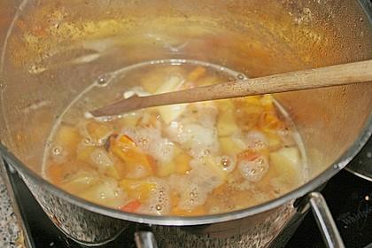 Kürbis-Kokos-Suppe 60