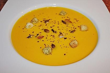 Kürbis-Kokos-Suppe 2