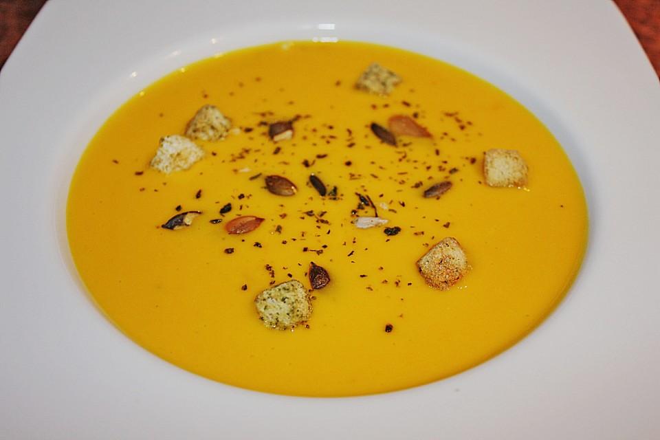 Kürbis-Kokos-Suppe von bostgt | Chefkoch
