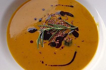 Kürbis-Kokos-Suppe 5
