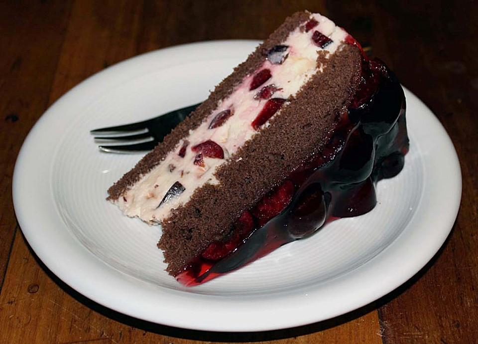 Kirsch Torte Mit Mascarpone Creme Chefkoch De