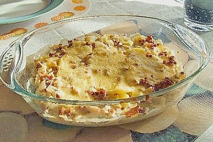 Kartoffel - Frischkäseauflauf 8