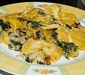 Kartoffelauflauf mit Spinat und Käse (Bild)