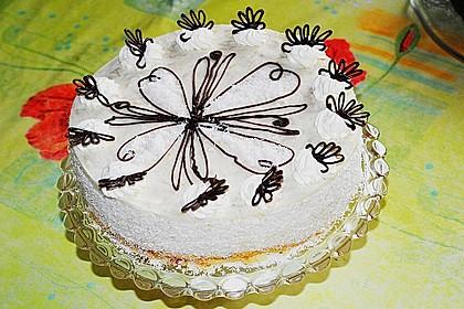 Rhabarber - Kokos - Torte 1