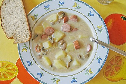 Champignon - Kartoffel - Suppe 9