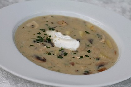 Champignon - Kartoffel - Suppe
