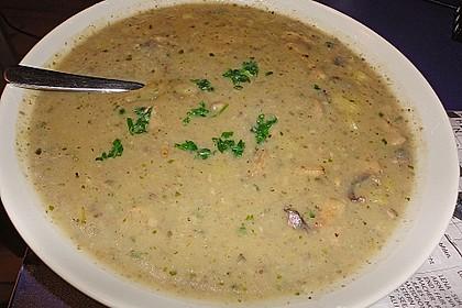 Champignon - Kartoffel - Suppe 4