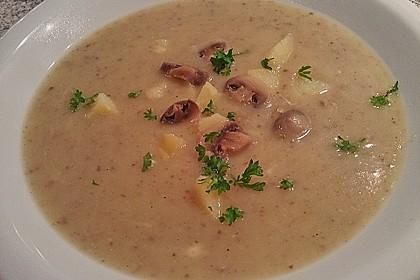 Champignon - Kartoffel - Suppe 2