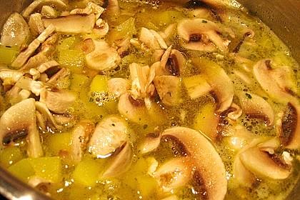 Champignon - Kartoffel - Suppe 11