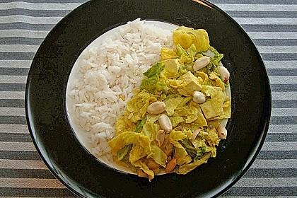 Wirsing in Kokosmilch (Bild)