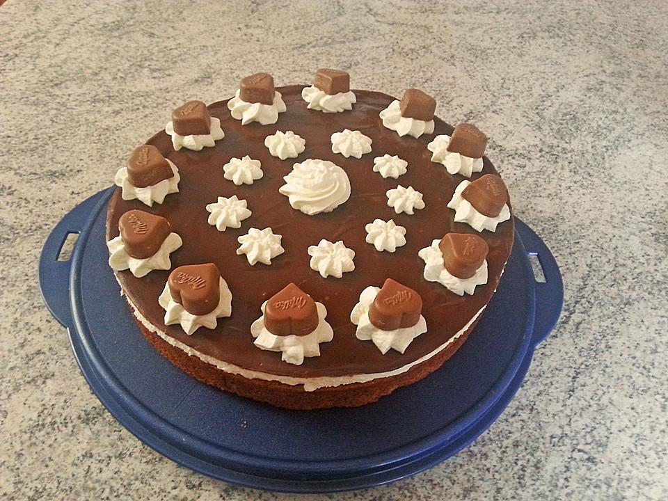 Milka Kuchen Von Sanexate Chefkoch De