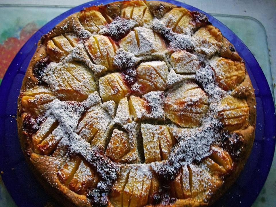 Apfel Mohn Kuchen Von Lena1101 Chefkoch De