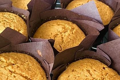 Kürbis - Muffins 6