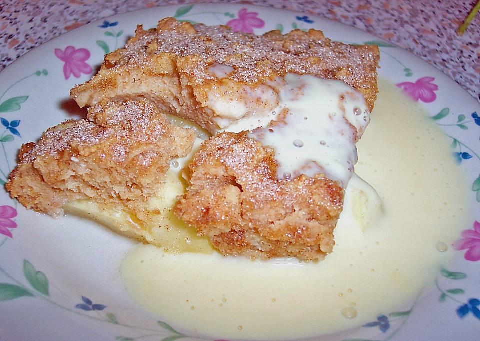 Apfel Zwieback Auflauf Von Ozelotte Chefkoch