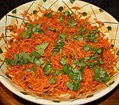 Karottensalat mit Ingwer und Koriander (Bild)