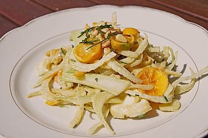 Smokeys Fenchel-Kumquat-Salat