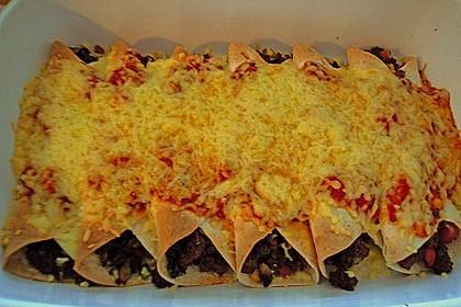 Würzige Burritos mit Reis und Sourcream 1