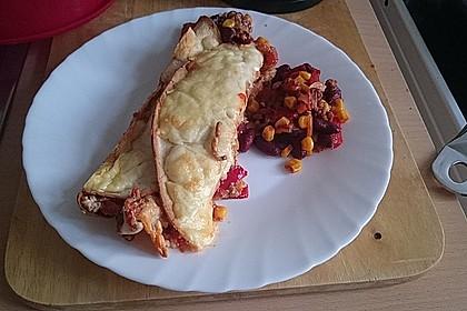 Würzige Burritos mit Reis und Sourcream 3