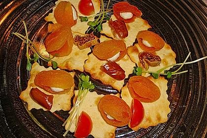 Aprikosen mit Feta- oder Frischkäse zum Apéro 1