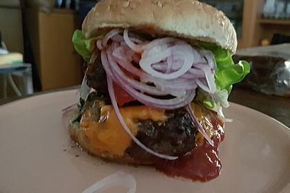 Burger à la Big Tasty Bacon 4