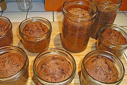 Schoko-Kirsch-Whisky-Kuchen im Glas 1