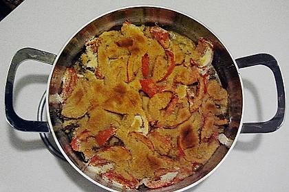 Chicoreé mit Tomaten und Hackfleisch
