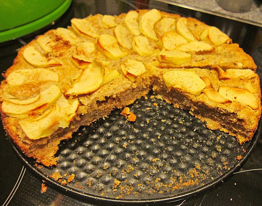 Vollkorn Apfelkuchen Ohne Zucker Von Forgiveness Chefkoch De