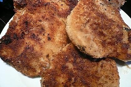 Panierte Koteletts mit Zwiebel-Rahm-Soße 22
