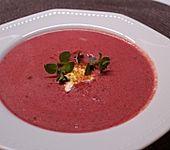 Rote Bete–Orangen-Suppe (Bild)