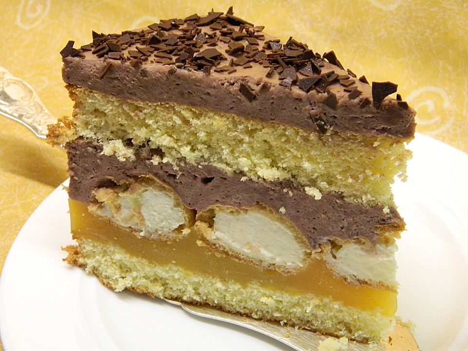 Orangen Schokoladen Torte Von Brisane Chefkoch De