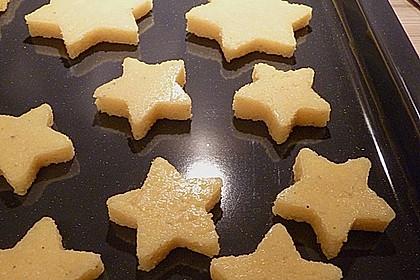 3 Sterne-Rehfilet mit Polenta-Sternen und Mandel-Brokkoli 4