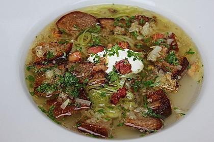 Brotsuppe auf bayrische Art