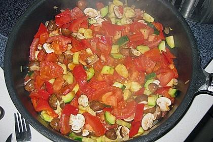 """Gemüse-Frischkäsesauce """"Quer durch die Küche"""" (Bild)"""