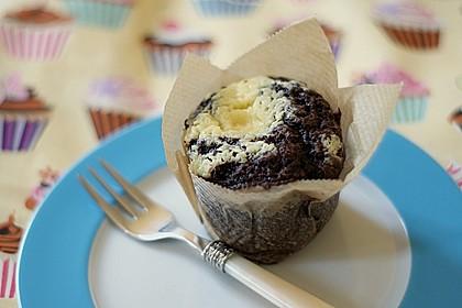 Double Chocolate Cheesecake Muffins 2
