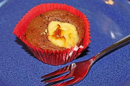 Double Chocolate Cheesecake Muffins 6