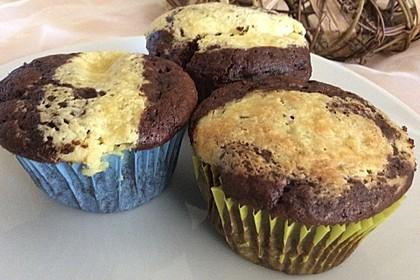 Double Chocolate Cheesecake Muffins 7
